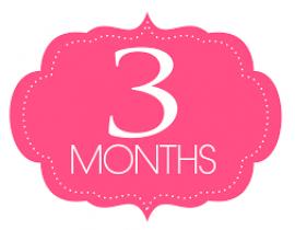 A 3 mesi di vita