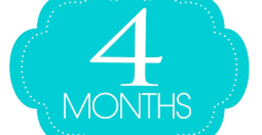 A 4 mesi di vita