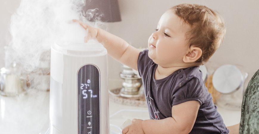 Ozono, fragranze e aria pulita -Humitouch Pure, l'umidificatore per tutta la famiglia