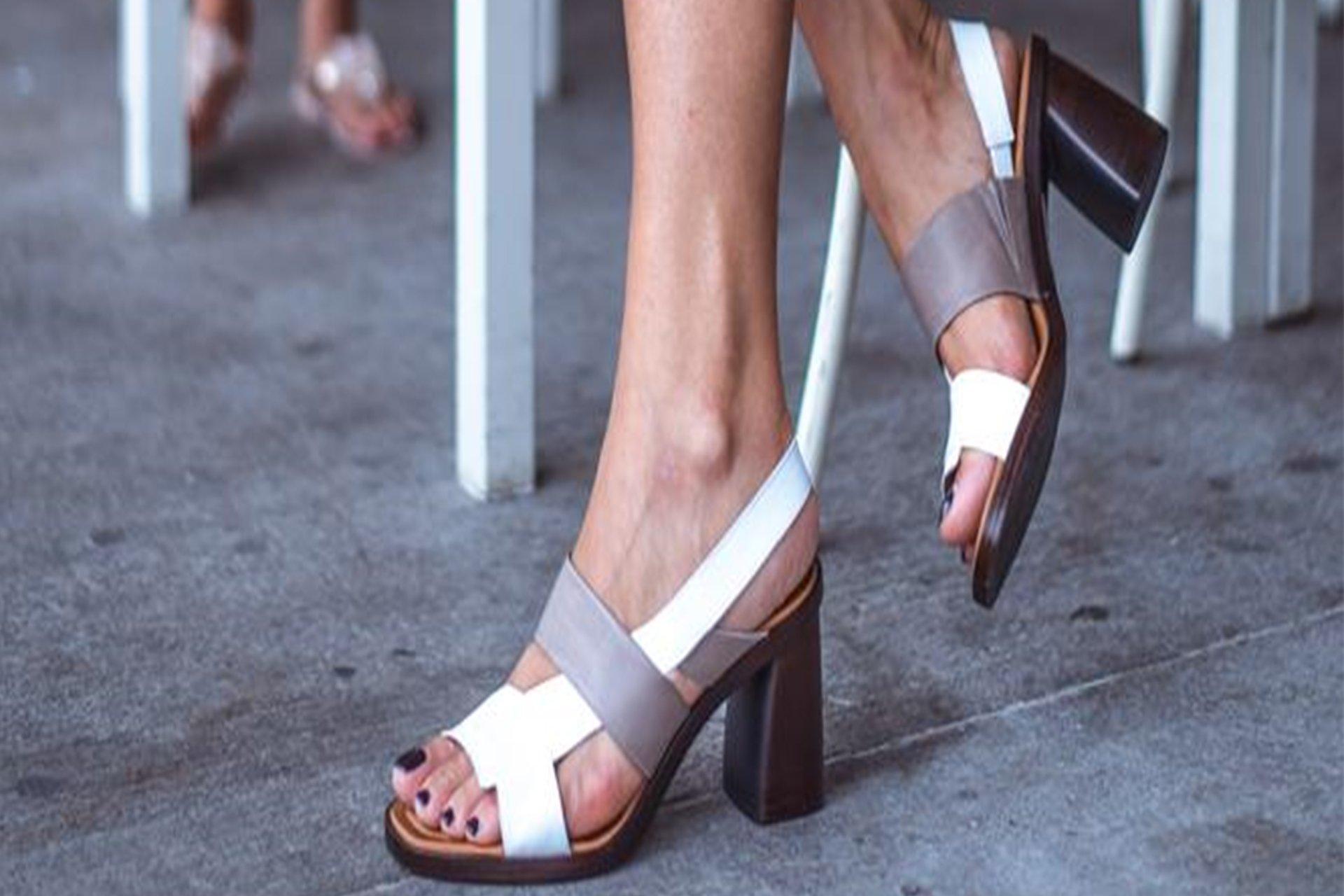 La scarpa alta e comoda Melluso Crumbs of Life