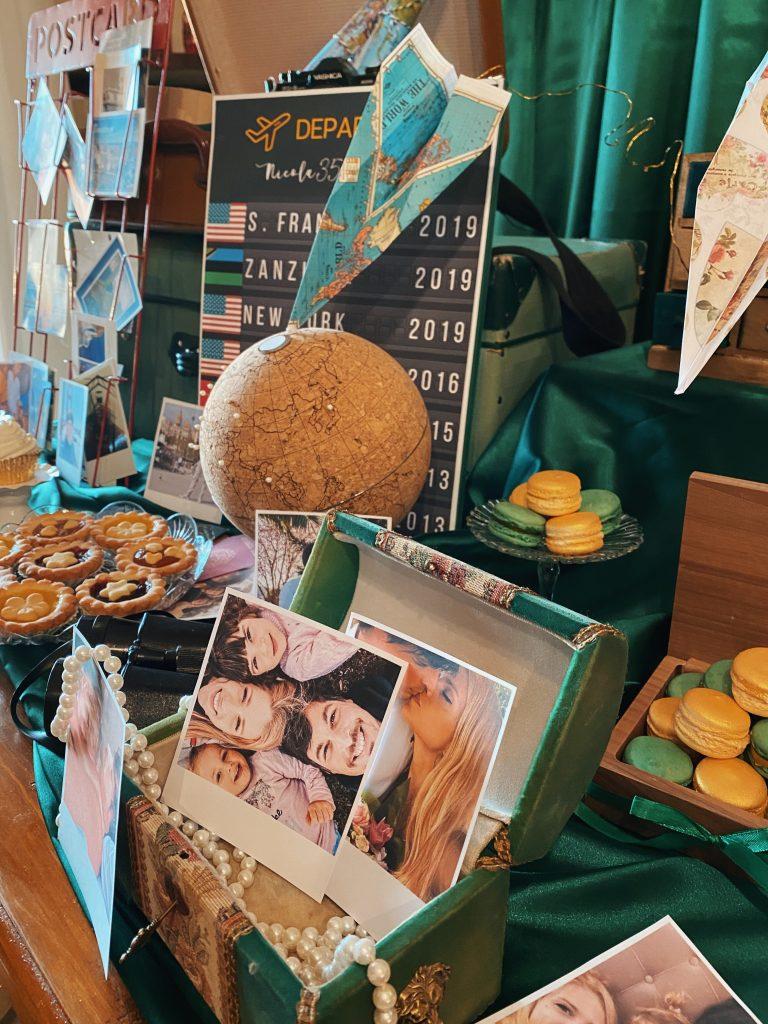 Ilaria Di Vaio compleanno Nicola Lanna 35 anni festeggiamenti torta dolci